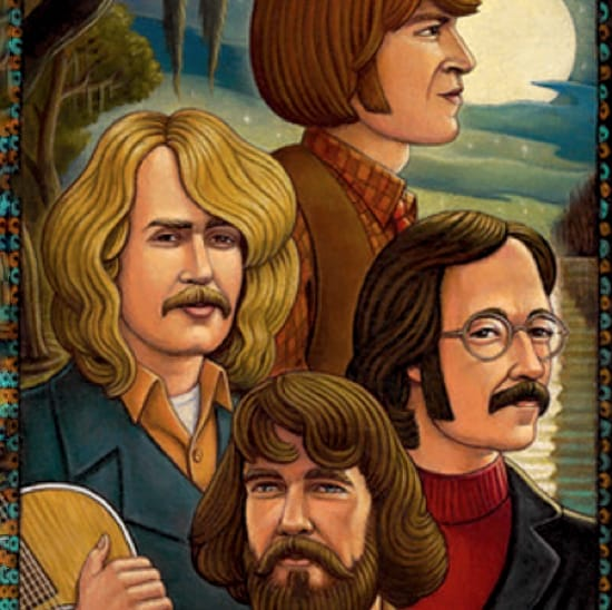 Cross Tie Walker Creedence Clearwater Revival Backing Track