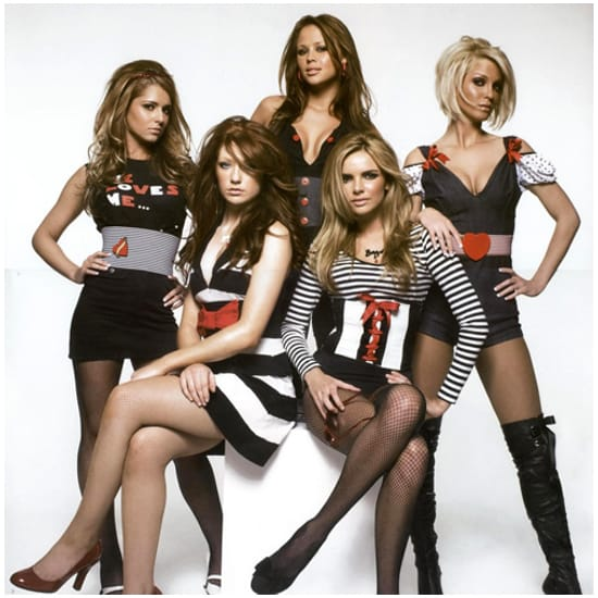 I'll Stand By You Girls Aloud Backing Track