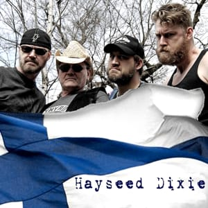 Fat Bottomed Girls Hayseed Dixie Backing Track