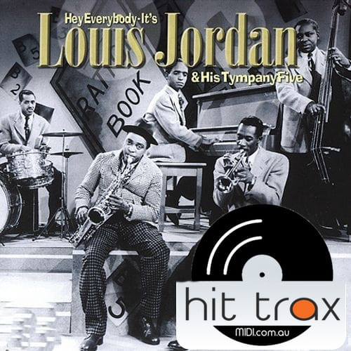 Buzz Me Louis Jordan And His Tympany Five Backing Track