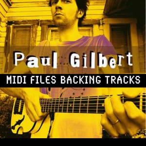 I Feel The Earth Move Paul Gilbert Backing Track