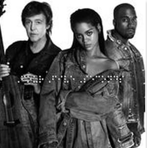 Fourfiveseconds (Feat K.west And P.mccartney) [jackson Moon Mix] Rihanna Backing Track