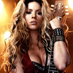 Dare (La La La) Shakira Backing Track