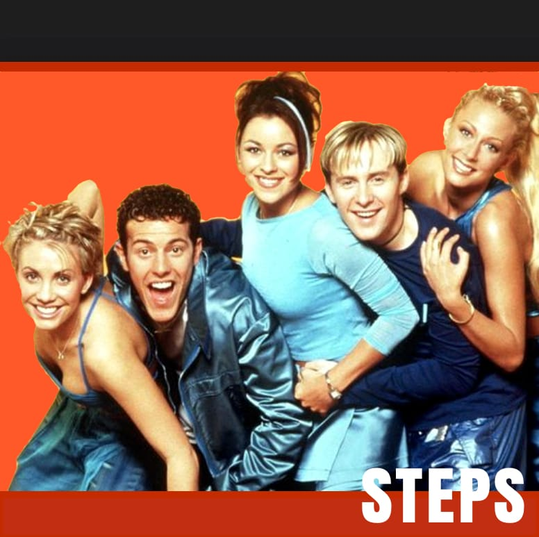 Better The Devil You Know Steps Backing Track