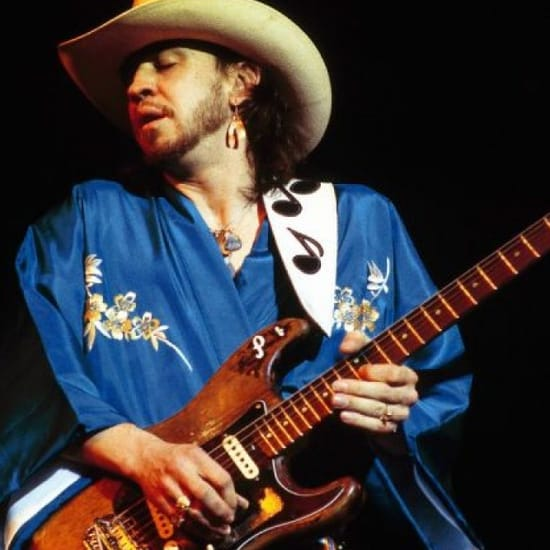 Crossfire (Minus Lead Guitar) Stevie Ray Vaughan Backing Track