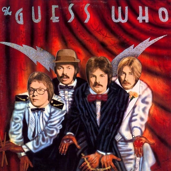American Woman The Guess Who Backing Track