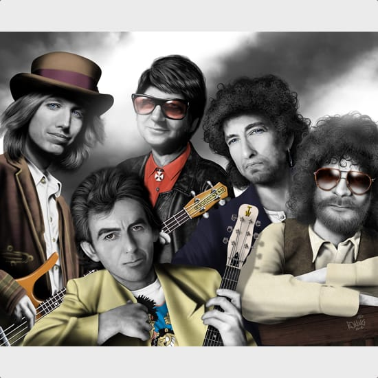 Handle With Care Traveling Wilburys Backing Track