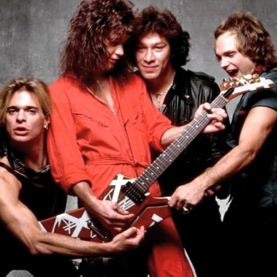Jump Van Halen Backing Track
